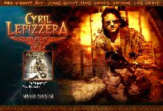Cyril Lepizzera Website