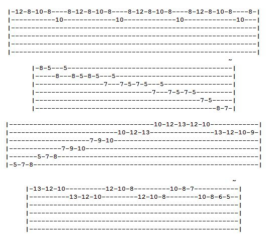 Guitar : guitar tablature exercises Guitar Tablature ; Guitar Tablature Exercisesu201a Guitar