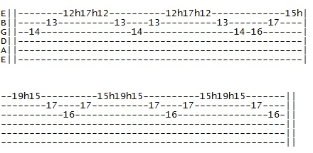 sweep picking 1