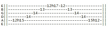 5 string minor