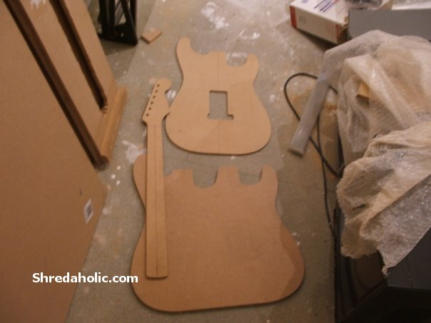 Making A Double Neck Strat Body Shredaholic